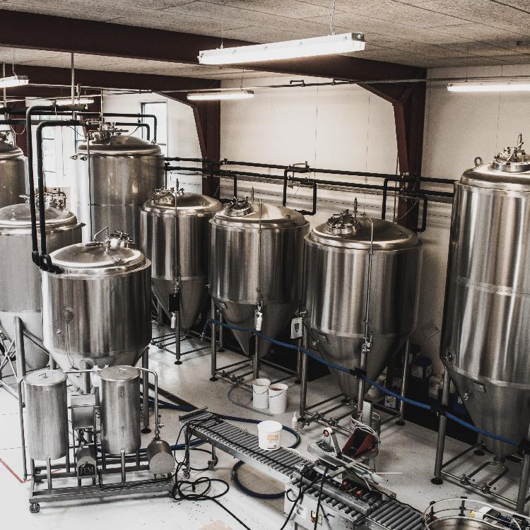Rundvisning på bryggeriet Midtfyns Bryghus