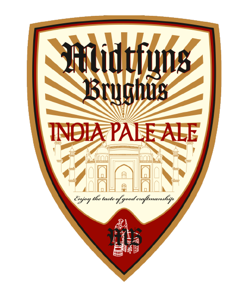 IPA øl fra bryggeri på fyn