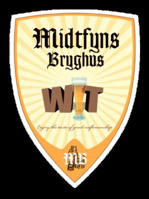 Frisk krydret og lysgylden wit øl